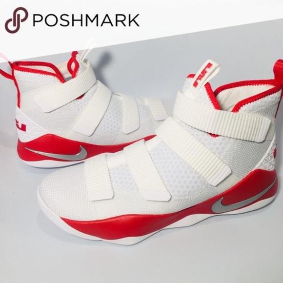 Nike Other - Nike LeBron Soldier XI TB promo red/white size10.5